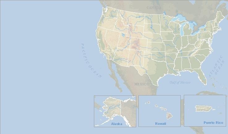 Blank Us Map Noaa Noaa Globalinterco - Blank us map gov