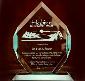 The Nancy Foster Habitat Conservation Award