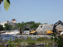 Great Works Dam: Penobscot River, Maine
