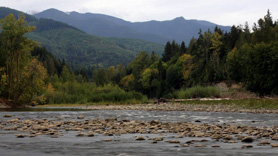 The Elwha River in Washington
